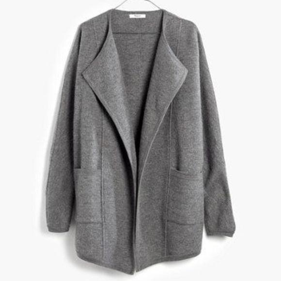 63c72f3a1 Madewell Oversized Sweater Jacket